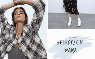 Sélection nouveautés ZARA octobre 2019